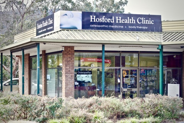 Hosford Health Clinic outside